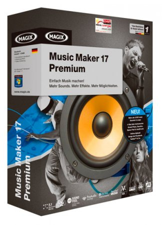 MAGIX Music Maker 17 Premium 17.0.0.16 (2010)