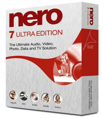 Nero 7 Ultra Edition Full Silent install Rus