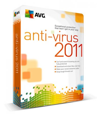 AVG Anti-Virus Free 2011 Final Rus 10.0.1325 build 3589