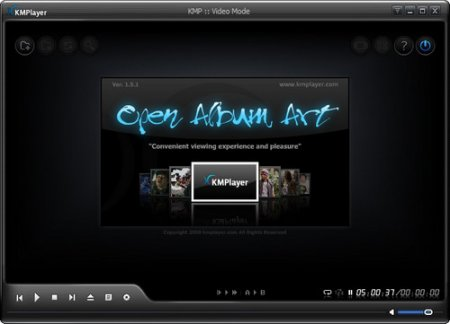 The KMPlayer 3.0.0.1440 (DXVA) сборка от 25.05.2011
