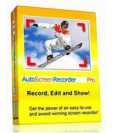 WisdomSoft AutoScreenRecorder Pro 3.1.375 + Portable