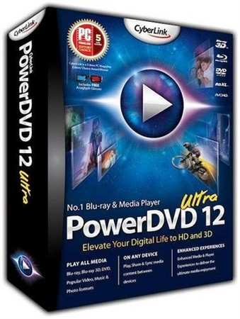 CyberLink PowerDVD Ultra 12.0.2428.57 RePack by qazwsxe (RUS/ENG)