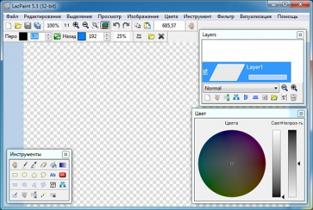 LazPaint 5.3 Rus Portable by Invictus