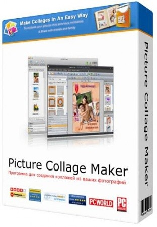 Picture Collage Maker Pro 4.1.2.3805 Rus Portable by Invictus (с доп. шаблонами)