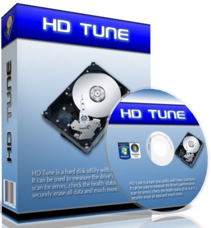 HD Tune Pro 5.50 Russian by loginvovchyk