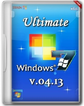 Windows 7 Ultimate v4.13 by STAD1 (x64) (2013)