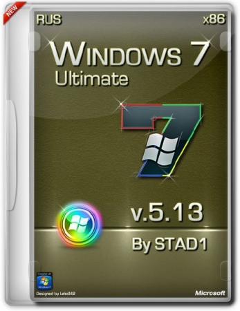Windows 7 x86 Ultimate 5.13 by STAD1