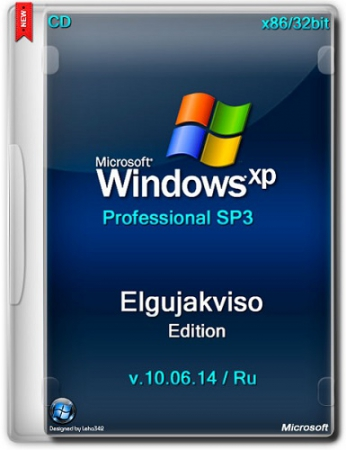 Windows XP Pro SP3 x86 Elgujakviso Edition v.10.06.14 (2014) RU