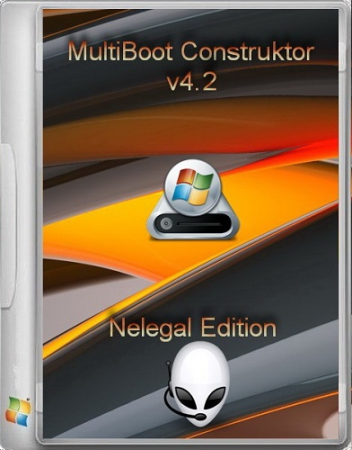 Multiboot USB Flash NeleGal Edition UEFI v4.2 RUS