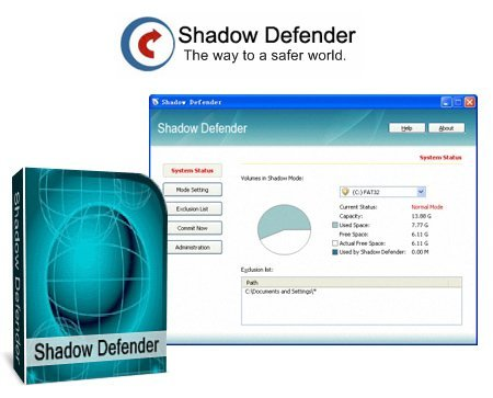 Shadow Defender 1.4.0.553 Final + Rus