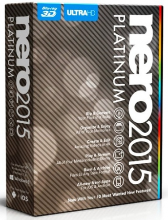 Nero 2015 Platinum 16.0.02900 Full (2014) PC | RePack by Vahe-91