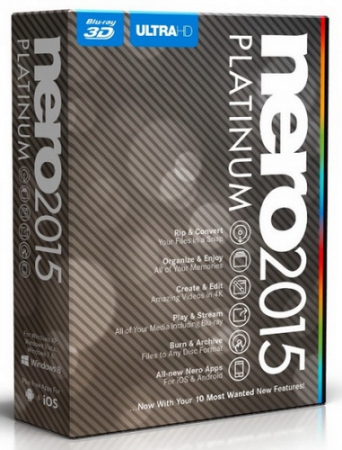 Nero 2015 Platinum 16.0.04200 Final RePack by Diakov