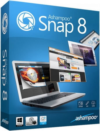 Ashampoo Snap 8.0.2 RePack/Portable by Diakov