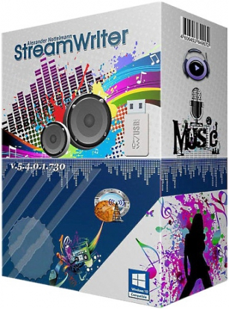 StreamWriter 5.4.0.1 Build 745 Portable