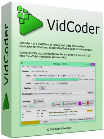 VidCoder 2.38 Beta (x86/x64) + Portable