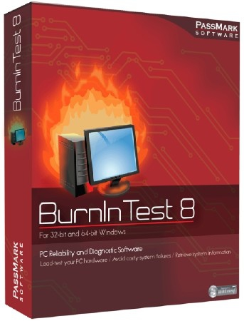 PassMark BurnInTest Pro 8.1 Build 1021 Final