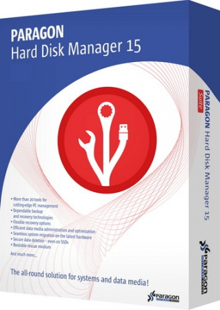 Paragon Hard Disk Manager 15 Premium | Professional 10.1.25.813 RePack by D!akov