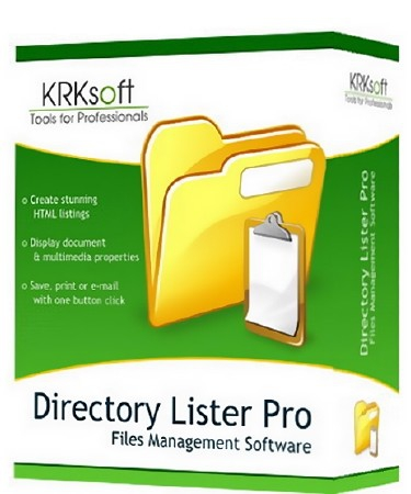 Directory Lister Pro 2.20.0.321 Enterprise Edition