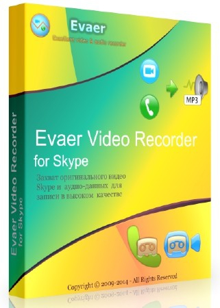 Evaer Video Recorder for Skype 1.7.6.51 + Rus