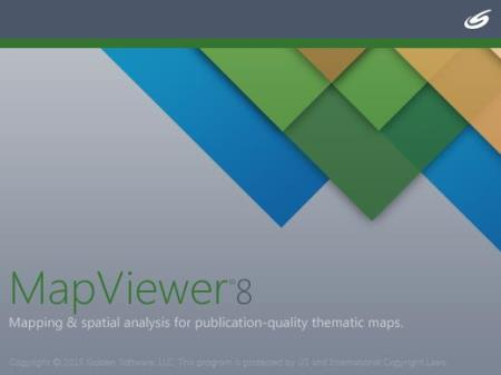Golden Software MapViewer 8.5.535