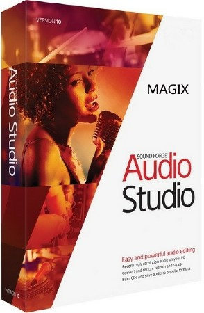 MAGIX Sound Forge Audio Studio 10.0 Build 319