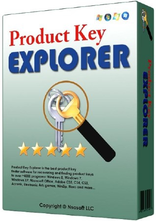 Nsasoft Product Key Explorer 3.9.9.0