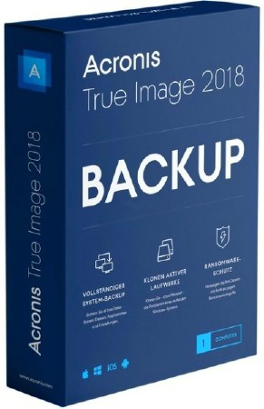 Acronis True Image 2018 Build 9850 Final