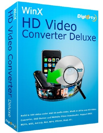 WinX HD Video Converter Deluxe 5.12.0.294 Build 13.12.2017 + Rus