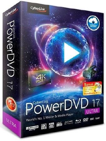 CyberLink PowerDVD Ultra 17.0.2508.62