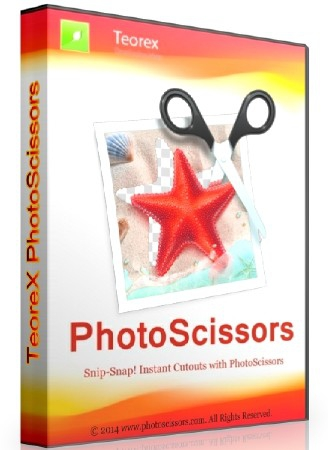 Teorex PhotoScissors 4.1