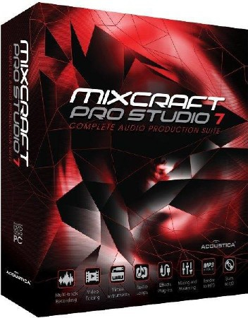 Acoustica Mixcraft Pro Studio 8.1 Build 418 Final
