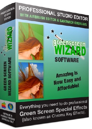 Green Screen Wizard Professional 9.8