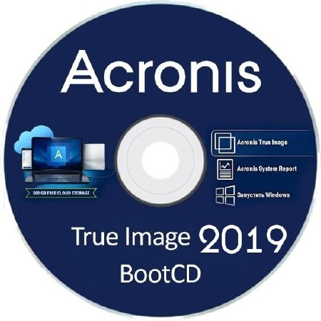 Acronis True Image 2019 Build 14110 Final BootCD