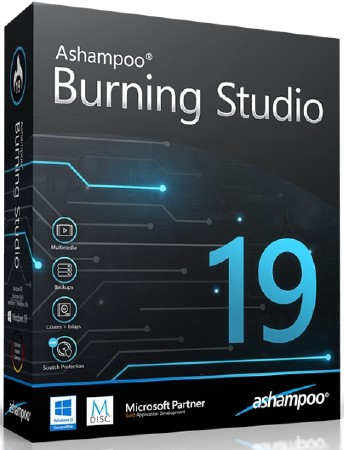 Ashampoo Burning Studio 19.0.2.6 Final DC 25.09.2018
