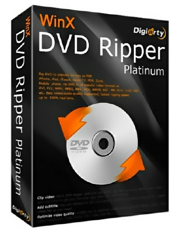 WinX DVD Ripper Platinum 8.9.0.215 Build 09.01.2019 + Rus
