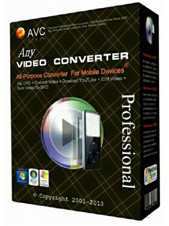 Any Video Converter Professional 6.2.7