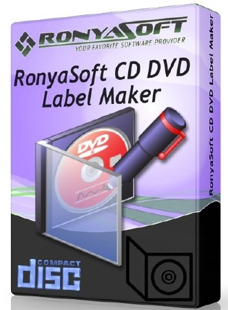 RonyaSoft CD DVD Label Maker 3.2.17