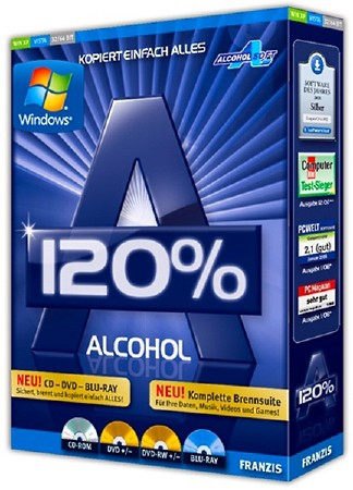 Alcohol 120% 2.0.3 Build 11012 Retail