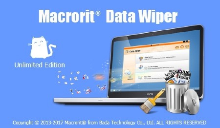 Macrorit Data Wiper 4.3.7 Unlimited Edition + Portable