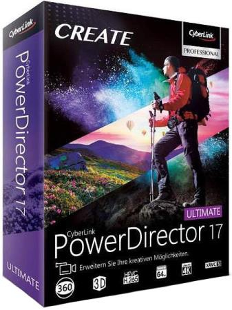 CyberLink PowerDirector Ultimate 17.0.2419.0 + Rus