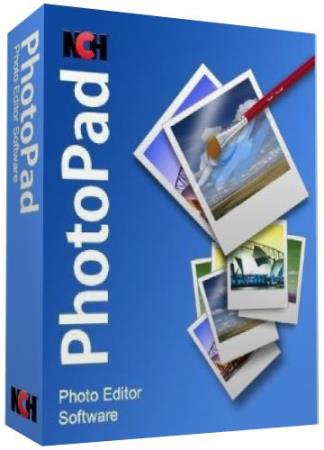 NCH PhotoPad Image Editor Pro 5.00 (Ml/Rus/2018) Portable