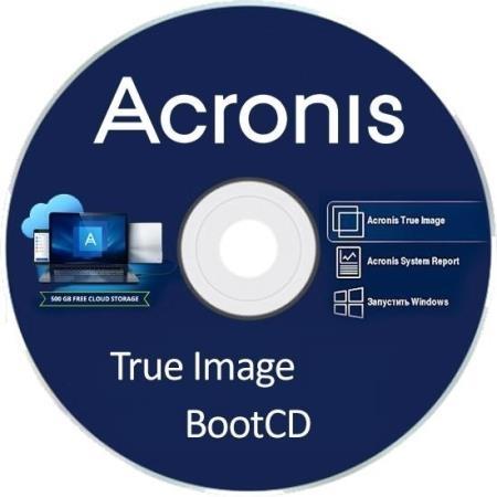 Acronis True Image 2019 Build 17750 BootCD