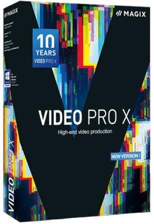 MAGIX Video Pro X10 16.0.2.322 + Rus