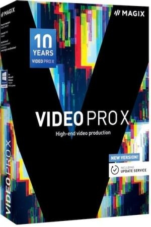 MAGIX Video Pro X10 16.0.2.322 RePack by PooShock