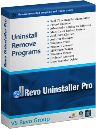 Revo Uninstaller Pro 4.1.0 RePack & Portable by KpoJIuK