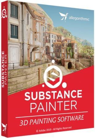 Allegorithmic Substance Painter 2019.1.0 Build 3020