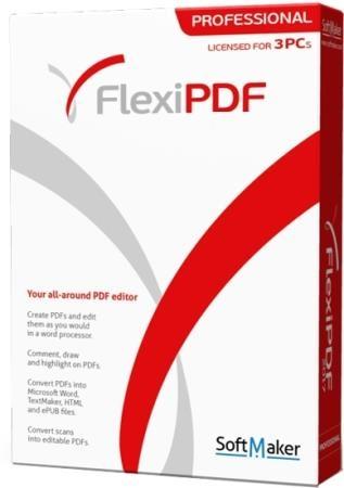 SoftMaker FlexiPDF 2019 Professional 2.0.2