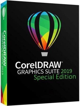 CorelDRAW Graphics Suite 2019 21.1.0.643 Special Edition