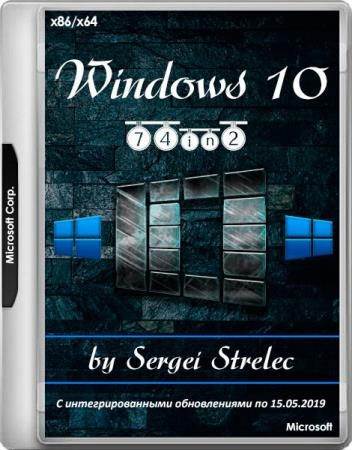 Windows 10 v.1809.17763.503 74in2 by Sergei Strelec (x86/x64/RUS)