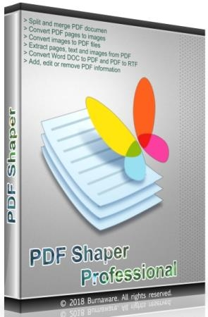 PDF Shaper Professional / Premium 9.0 Final RePack & Portable by TryRooM